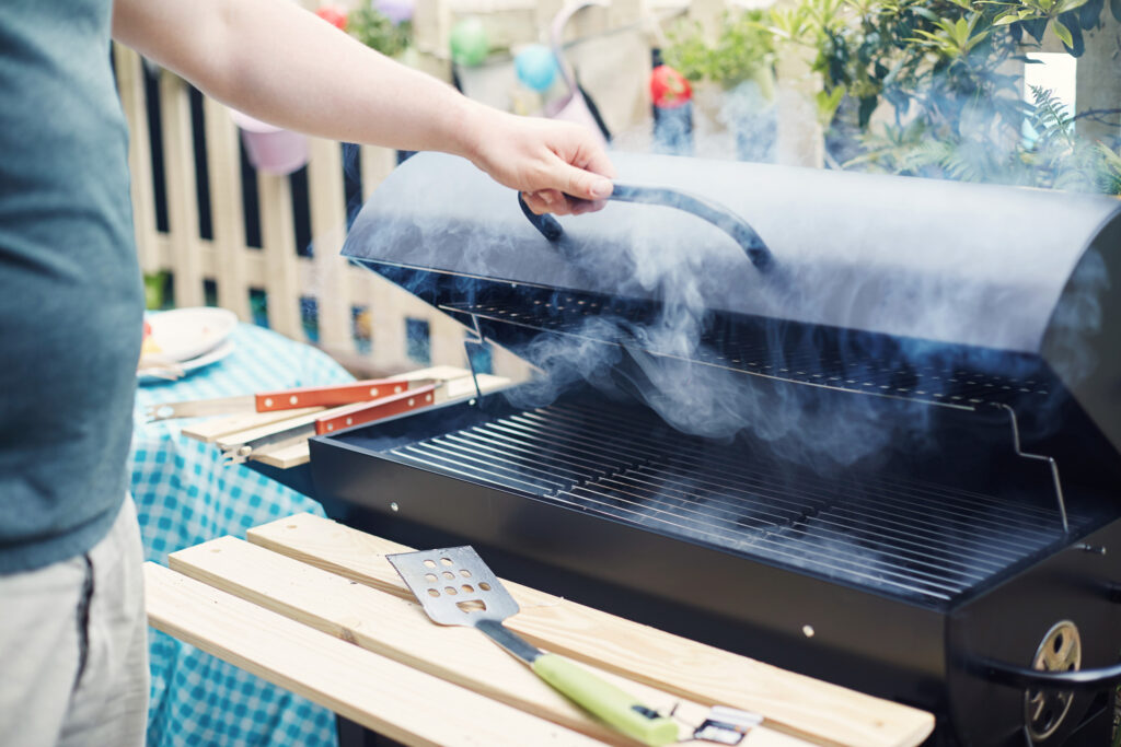 Properly Clean a Gas Grill