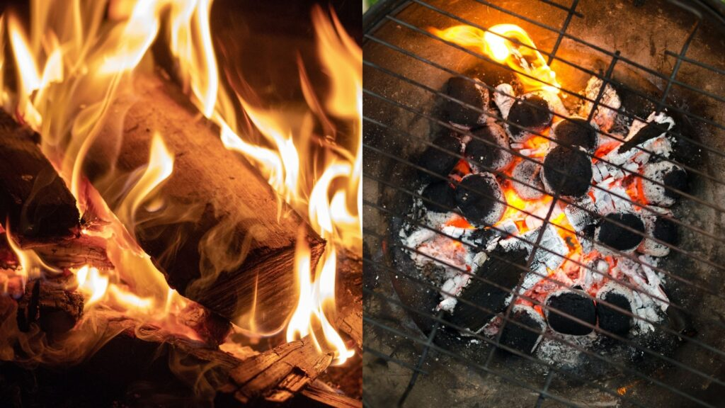 Ways to burn a Charcoal